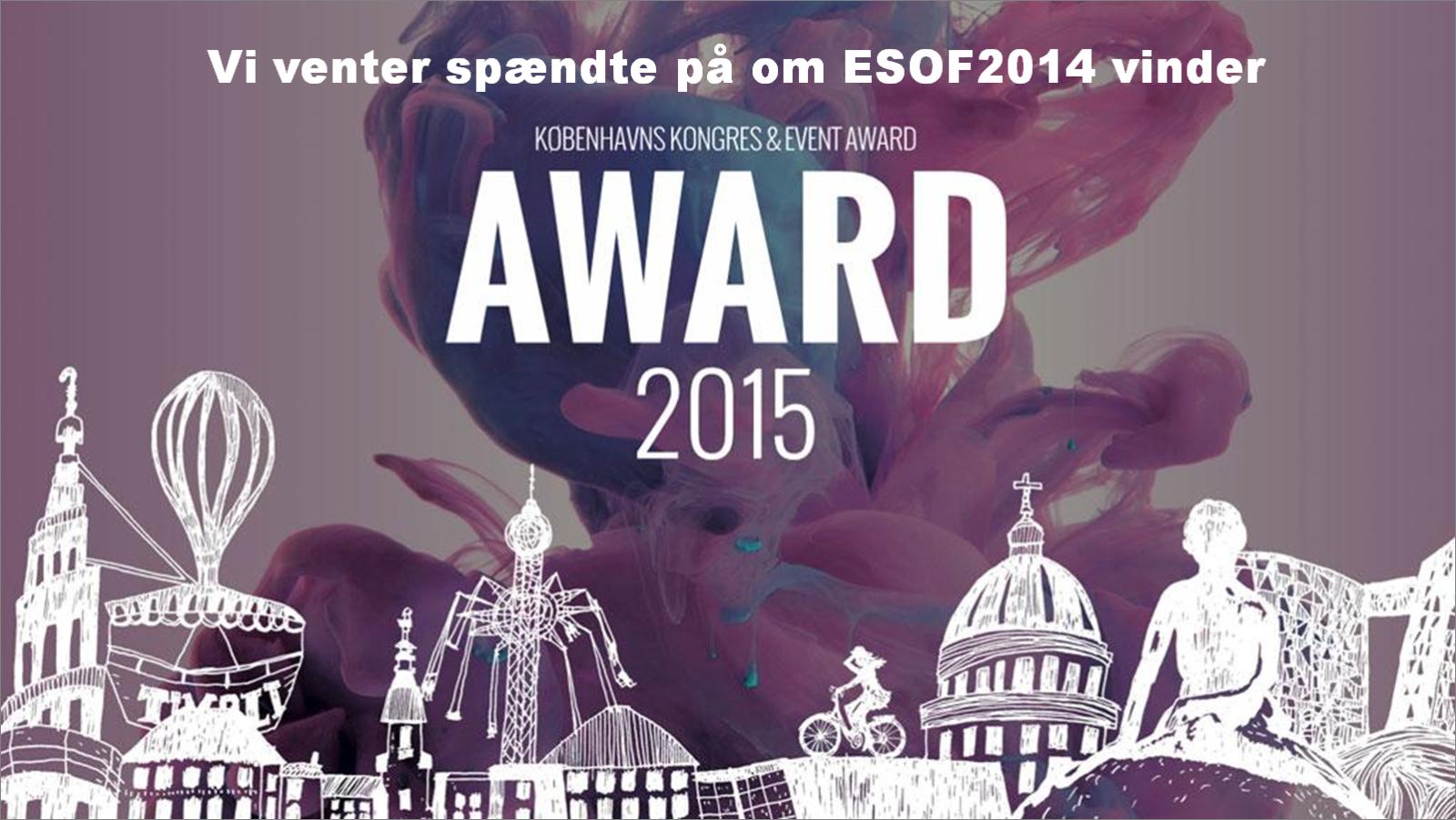 CPH Congress & Event Award 2015