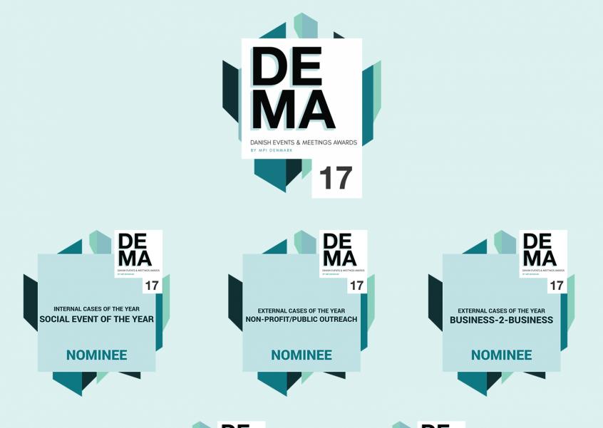 5 Nomineringer til DEMA17!