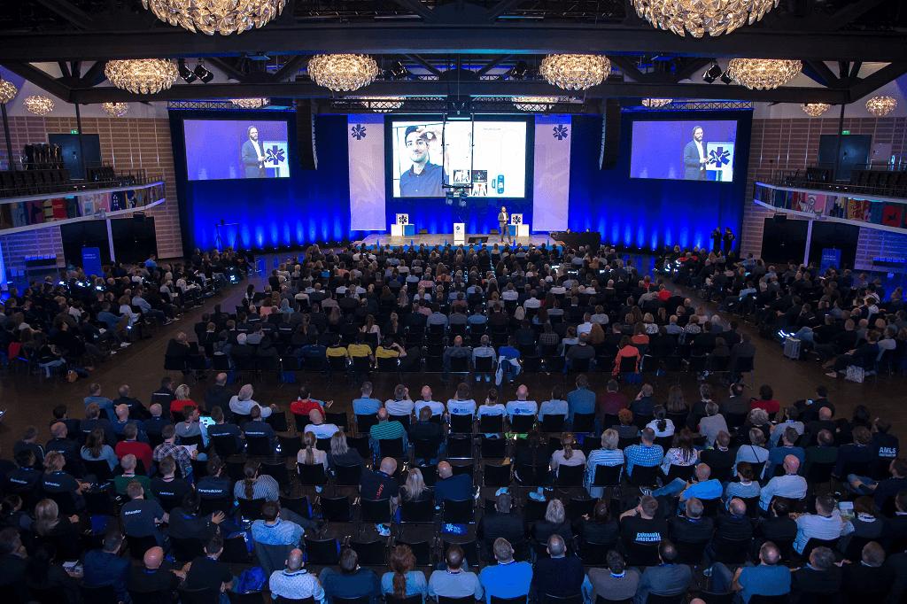 EMS 2018 Konference sal