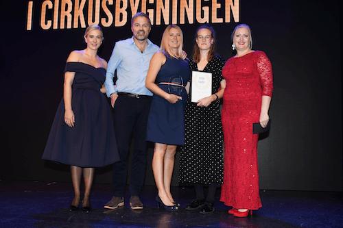 Crone and Co vinder af Årets SAMARBEJDSPARTNER