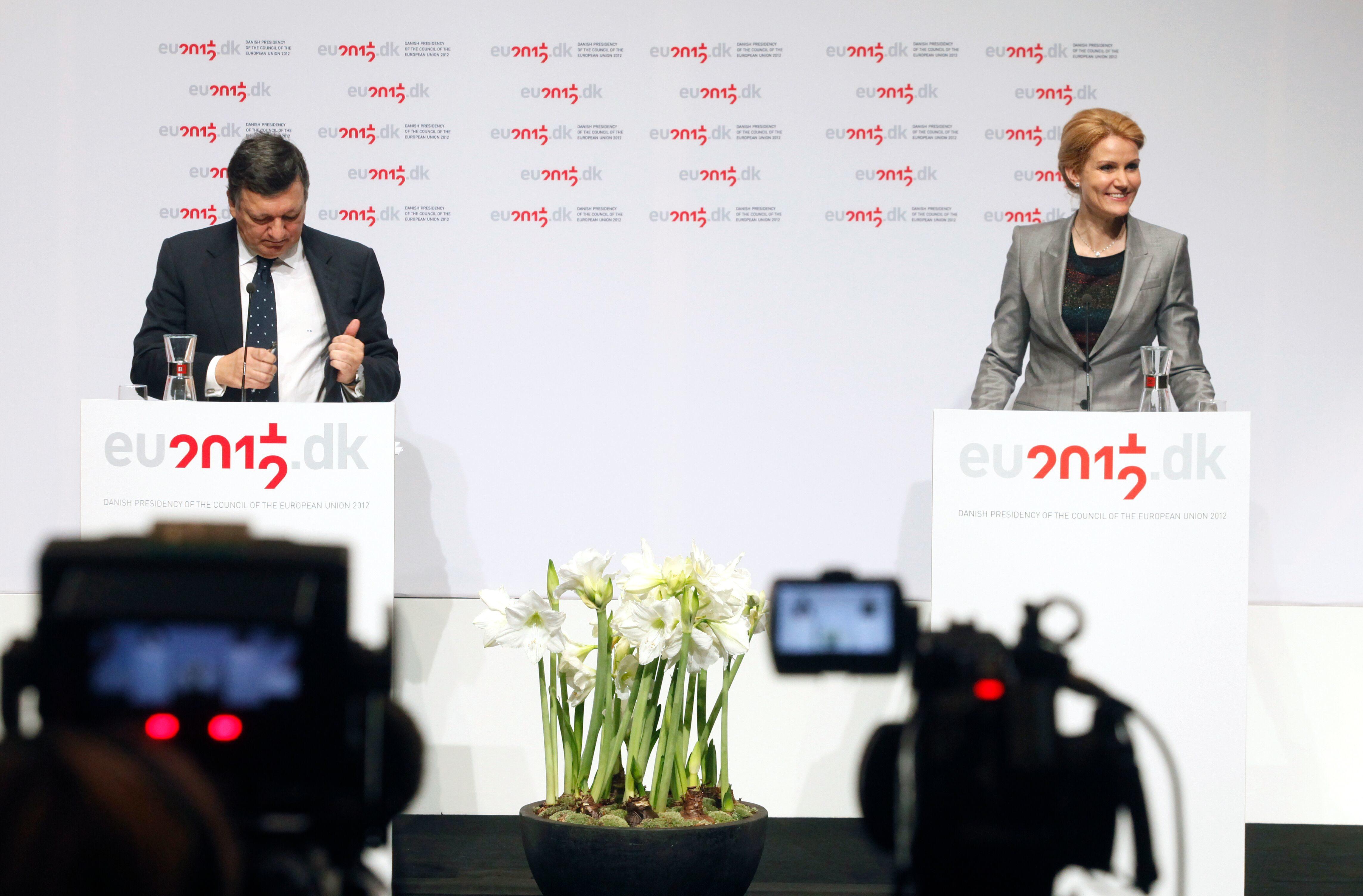 EU formandskab Scene med statsmenister